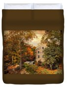 Autumn At Stone Mill Duvet Cover