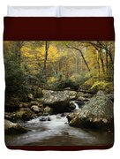 Autumn At Stony Creek Duvet Cover