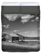 Autumn Barn Monochrome Duvet Cover