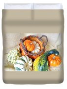 Autumn Basketful Duvet Cover