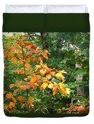 Autumn Begins At Breakheart Reservation Duvet Cover