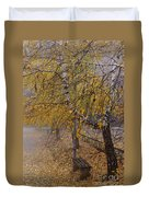 Autumn Bench Duvet Cover