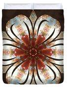 Autumn Blooming Duvet Cover by Derek Gedney