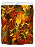 Autumn Burst Duvet Cover