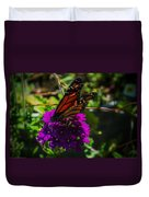 Autumn Butterfly Duvet Cover
