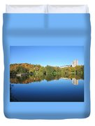 Autumn By The Lake 3 Duvet Cover