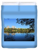 Autumn By The Lake 6 Duvet Cover