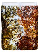 Autumn Chestnut Canopy   Duvet Cover