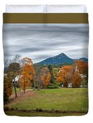 Autumn Chocorua Duvet Cover