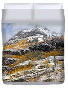 Autumn Clearning Duvet Cover by Darren  White