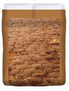 Autumn Cobble Stone Road II Duvet Cover