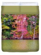 Autumn Color In Norfolk Botanical Garden 1 Duvet Cover
