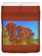 Autumn Colors I Digital Paint Duvet Cover