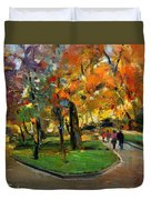 Autumn Colors - Lugano Duvet Cover