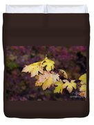 Autumn Contrast Duvet Cover
