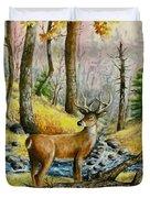 Autumn Crossing Duvet Cover