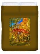 Autumn Cul-de-sac - Paint Duvet Cover