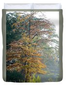 Autumn Cypress Duvet Cover