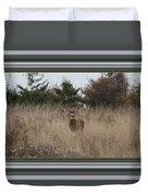 Autumn Deer Duvet Cover