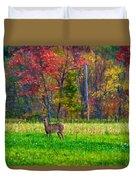 Autumn Doe - Paint Duvet Cover