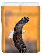 Autumn Eagle Duvet Cover