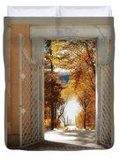 Autumn Entrance Duvet Cover