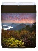 Autumn Evening Star Duvet Cover