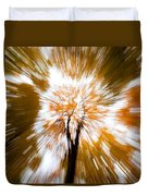 Autumn Explosion Duvet Cover by Dave Bowman