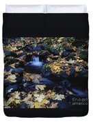 Autumn Fall Colors Starvation Creek State Park Duvet Cover