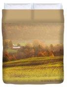 Autumn Fields Duvet Cover