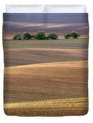 Autumn Fields Of Moravia Duvet Cover