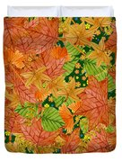 Autumn Floor Duvet Cover