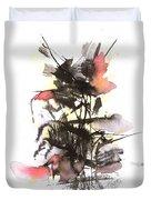 Autumn Flower Duvet Cover