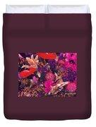 Autumn Flower Bouquet Duvet Cover