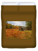 Autumn Foliage In Valley Forge Duvet Cover
