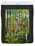Autumn Forest Detail Duvet Cover