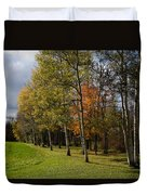 Autumn Forests And Fields Duvet Cover