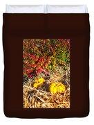 Autumn Garden Duvet Cover