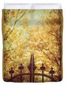 Autumn Gates Duvet Cover