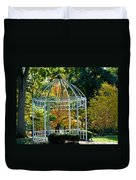 Autumn Gazebo Duvet Cover
