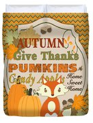 Autumn Gifts-a Duvet Cover