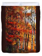 Autumn Glory I Duvet Cover