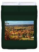 Autumn Glory Landscape Duvet Cover