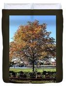 Autumn Gold Duvet Cover
