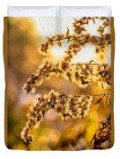 Autumn Goldenrod - Paint  Duvet Cover