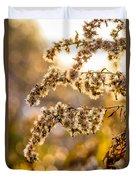 Autumn Goldenrod  Duvet Cover