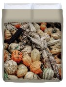 Autumn Gourds 2 Duvet Cover