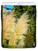 Autumn Grass Duvet Cover