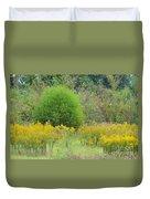 Autumn Grasslands Duvet Cover