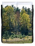 Autumn Grazing Duvet Cover